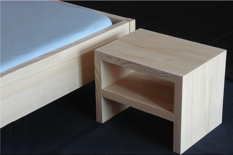 bett mit nachttisch preis auf anfrage werkheim. Black Bedroom Furniture Sets. Home Design Ideas